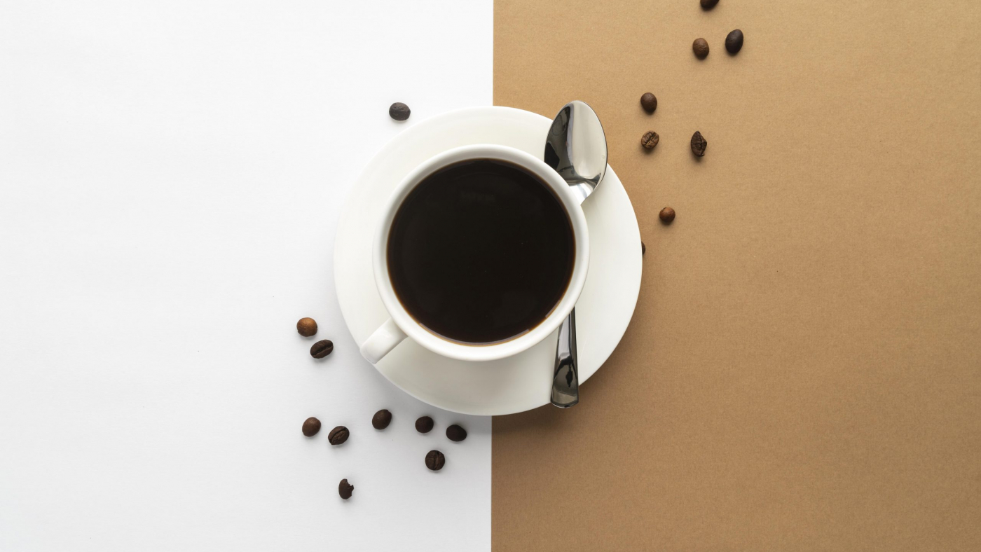 top-view-cup-coffee