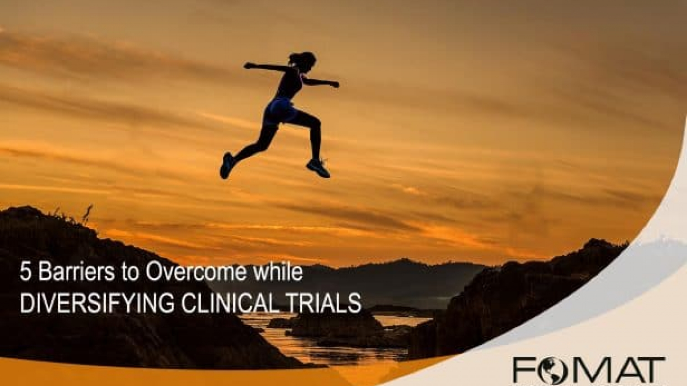 Barriers Diversifying Clinical Trials